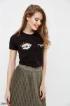 Женская футболка 18641