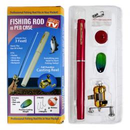"""Мини-удочка в форме ручки """"FISHING ROD IN PEN CASE"""""""