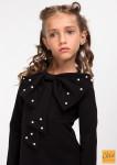 """Платье """"Лолита"""" черный 140(р) 000263"""