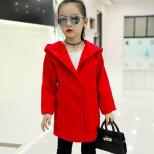 """Пальто TongZhan """"Little lady"""" красное"""