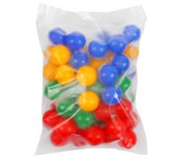 Шарики для сухого бассейна, диаметр шара 7,5 см, 60 шт.
