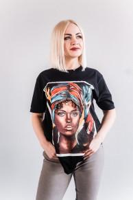 Женская футболка CR-0016-WHT от Caramella