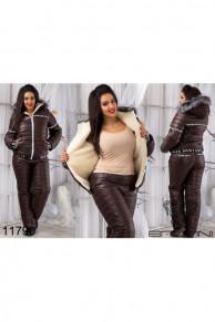 Теплый синтепоновый костюм - 11790