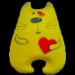 """Игрушка """"Кот Милашка"""" жёлтый"""