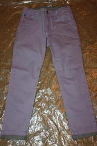 разноцветные брюки на девочку, б/у