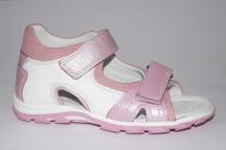Dandino, сандалии кожаные для девочки. ДОСТАВКА бесплатно