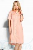 Легкое платье рубашка 19630