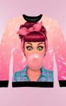 """Детский свитшот для девочки """"Bubblegum"""""""