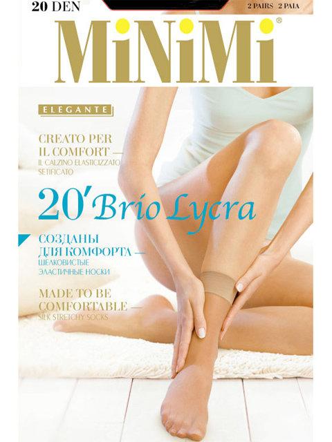 Носки MINIMI BRIO 20 Lycra носки (2 пары)