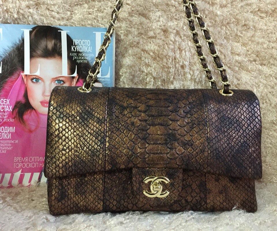 Женские Брендовые сумки Chanel, кожаные сумки Шанель в