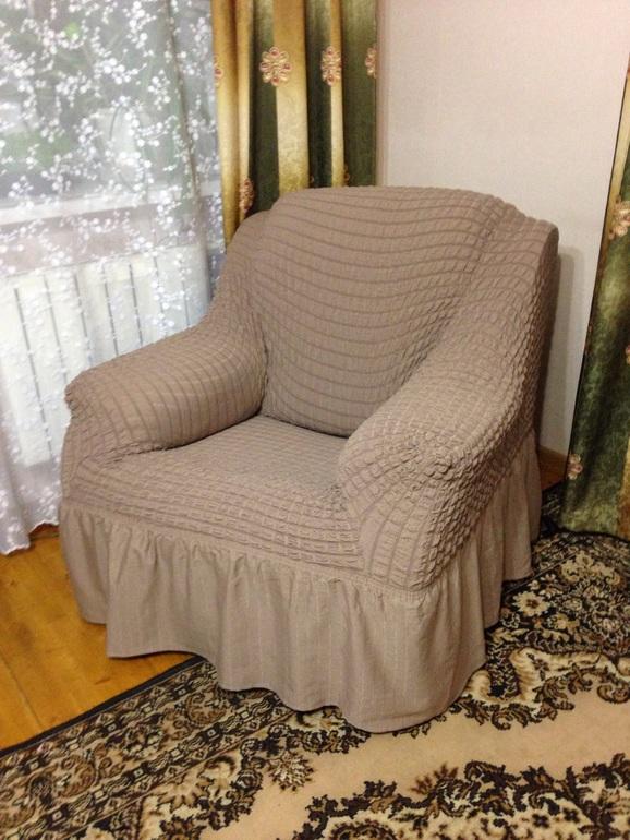 Чехол на кресло стандарт цвета в ассортименте