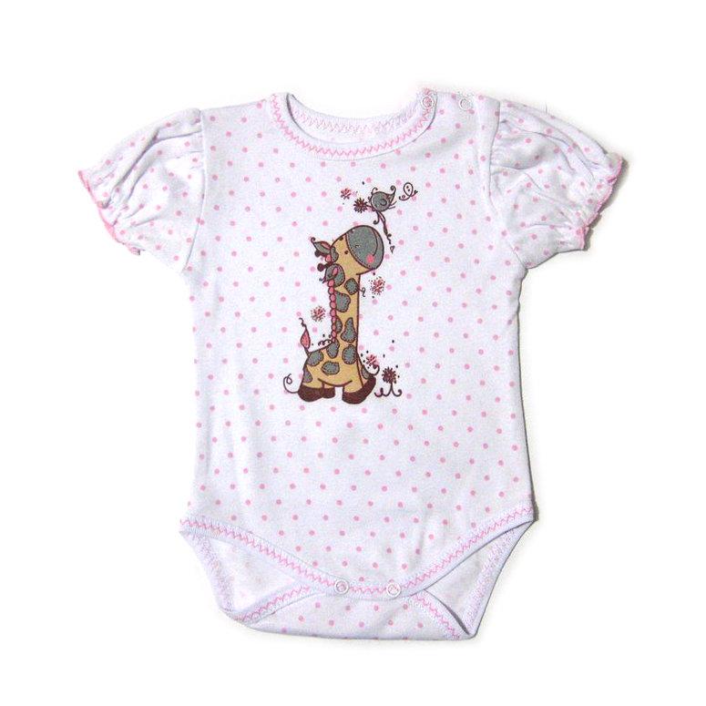 Бодик для новорожденных Жираф