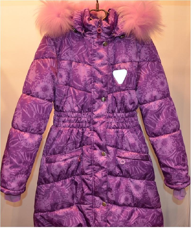 Р. Пальто для девочки ASTRA