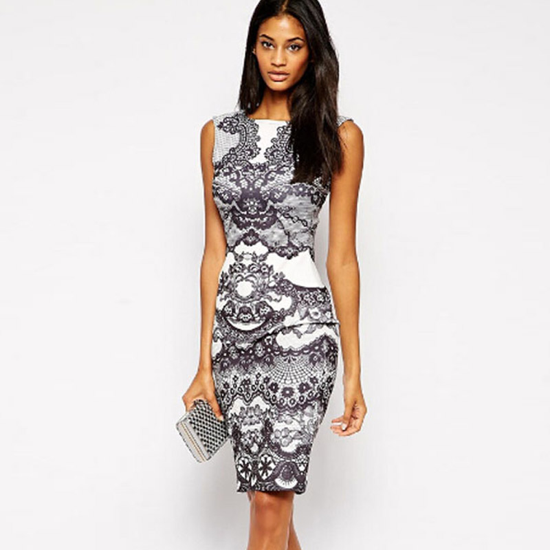 Черно белое платье интернет магазин