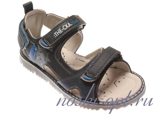 а11312 сандалии синие