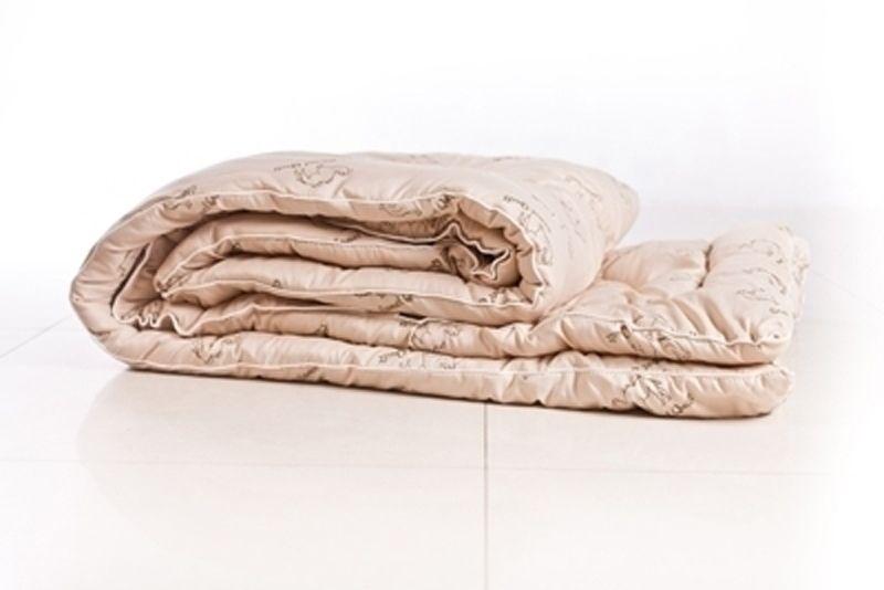 Одеяло верблюжье зима люкс 1,5 СП