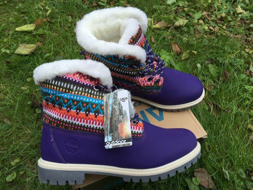 Женские зимние ботинки ANDA