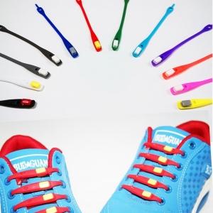 Cиликоновые шнурки