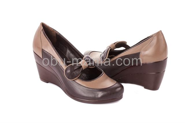Туфли Турция Shoes Т777 шоколад