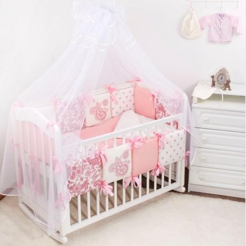 Кроватки для новорожденных с балдахином интернет магазин