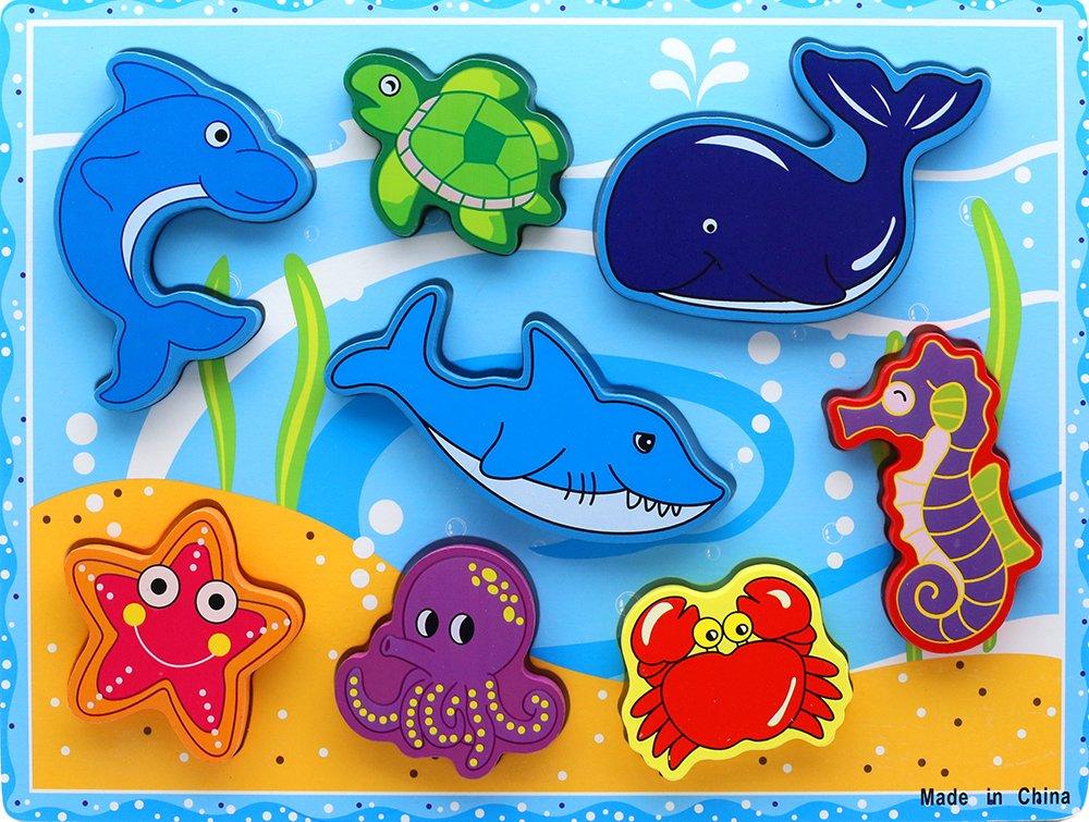 Картинки морских животных для детей цветные