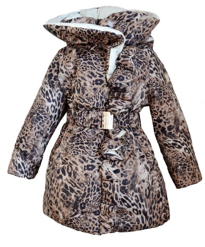 Пальто на тонком изософте