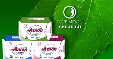 Анионовые прокладки Anion Love Moon (Кейс-19 пачек)