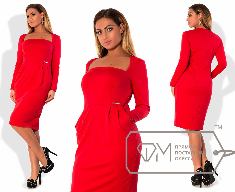 Красные платья 48 50 размеры модные пуховики зима 2018 фото женские