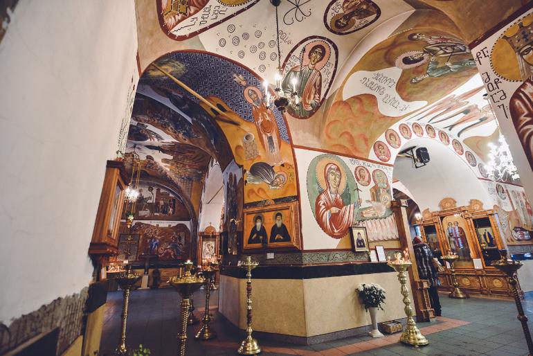 Роспись храма святого великомученика георгия в грузинах