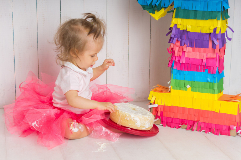 Торт для фотосессии ребенку
