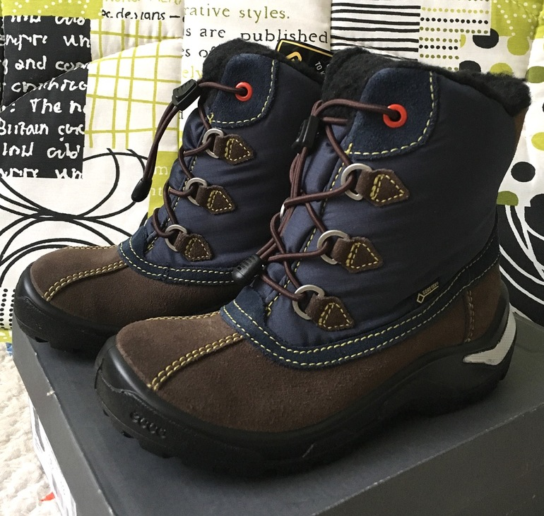 3276a21f9 Новые зимние сапоги ботинки Ecco р.30 - запись пользователя Алёна ...