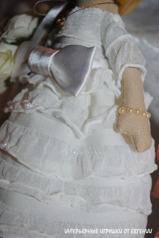 Белое платье белая фата