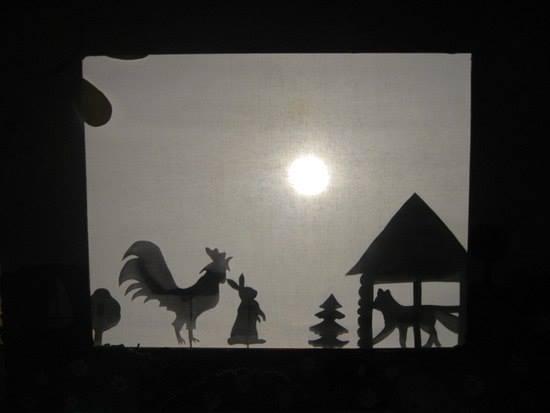 Театр теней для детей. Тени животных своими руками 50