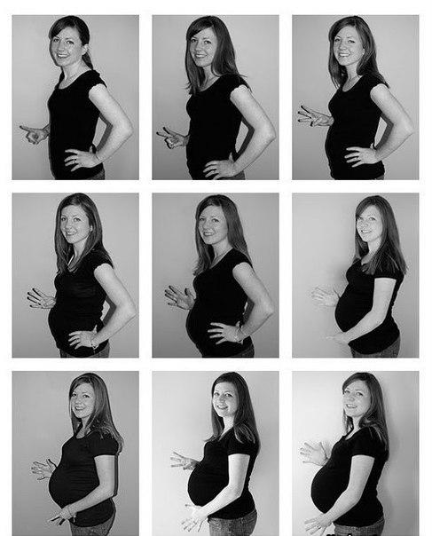 Идеи красивых фото беременных