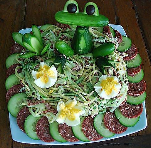 вторые блюда и салаты на детский день рождение с фото