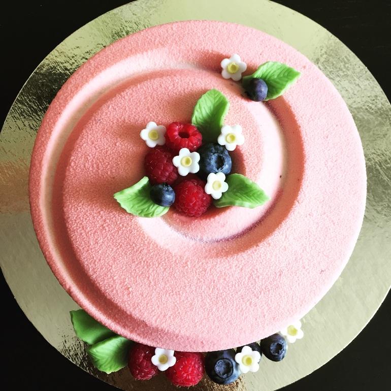велюр для торта рецепт