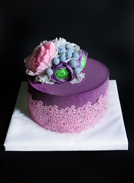 Велюровый торт как сделать
