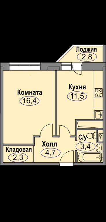 Любимое домодедово планировка квартир однокомнатных