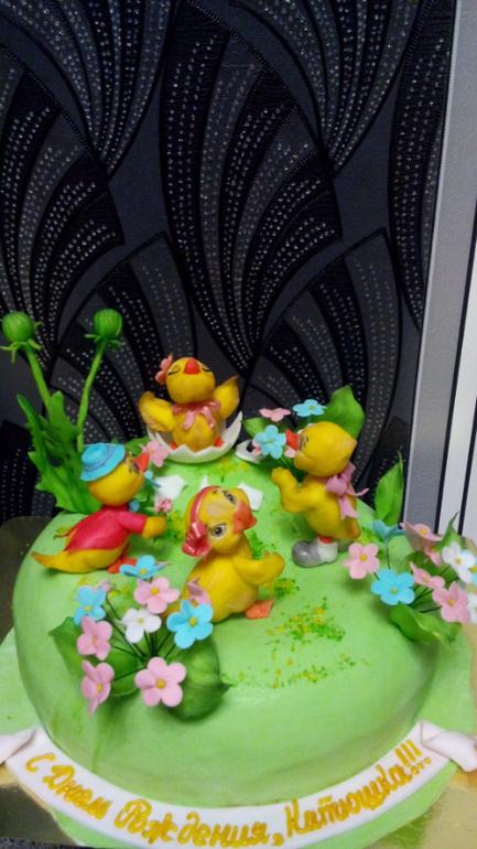 Торт цифра девять фото 2
