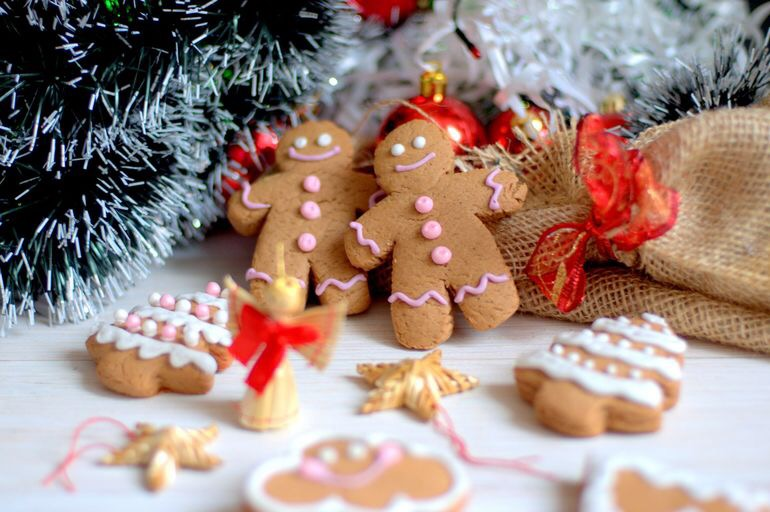 рождественский пряник рецепт фото