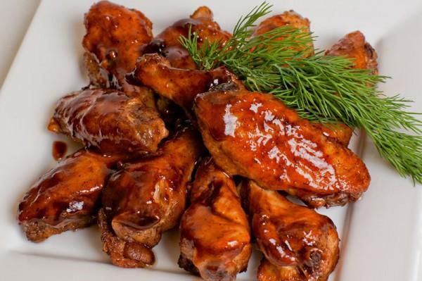 Крылышки барбекю рецепт фото