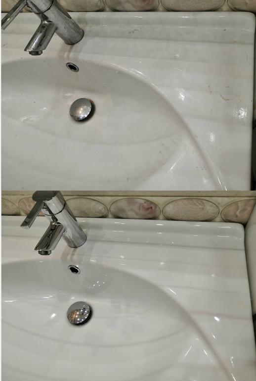 Эффективное эко-средство для очищения ванной комнаты и душа.
