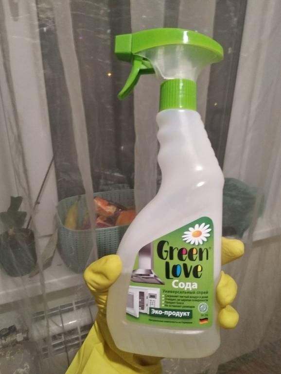 """Отзыв о  чистящем средстве  """"Green Love"""""""